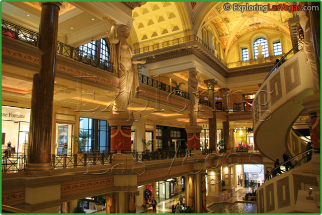 Caesars Palace Forum Shops | Exploring Las Vegas on