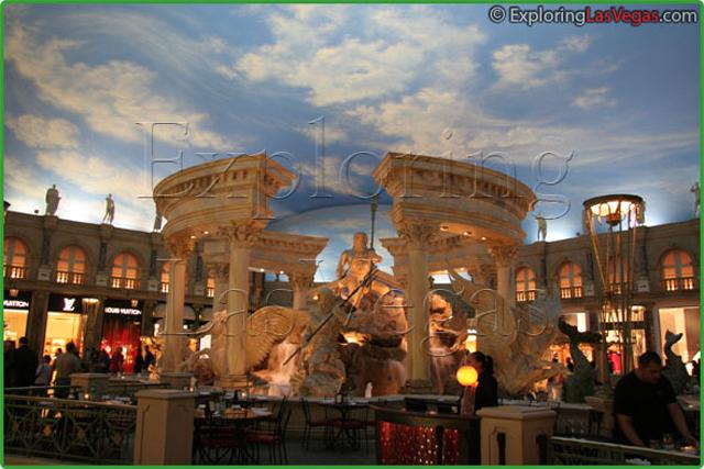 Caesars Palace Forum Shops Exploring Las Vegas