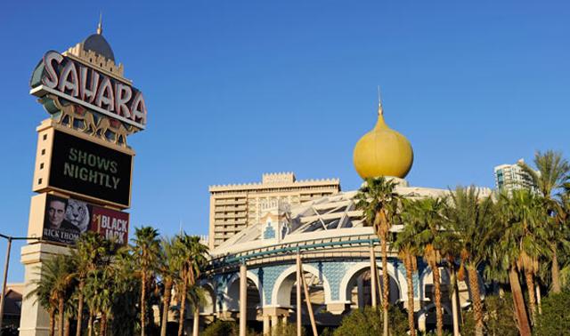 Sahara Hotel Exploring Las Vegas