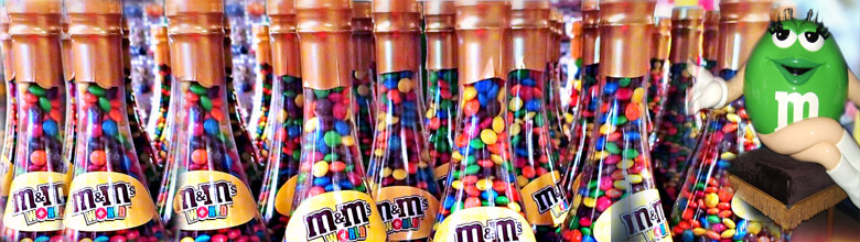 M & M's World Las Vegas M&M