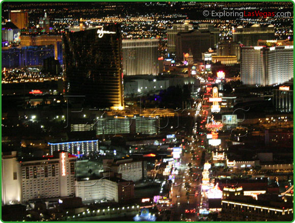 Las Vegas bachelor party strip image. Las Vegas Bachelor Party VIP packages