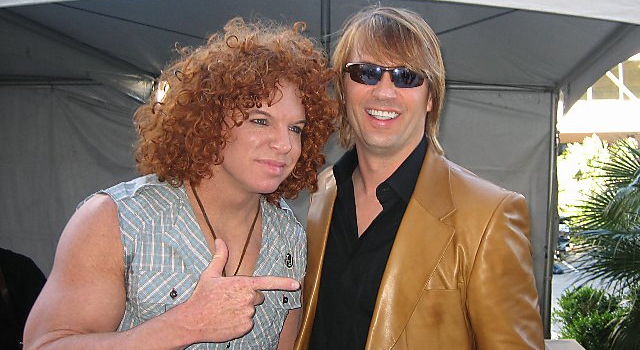 The Nude pics of carrot top talk. apologise