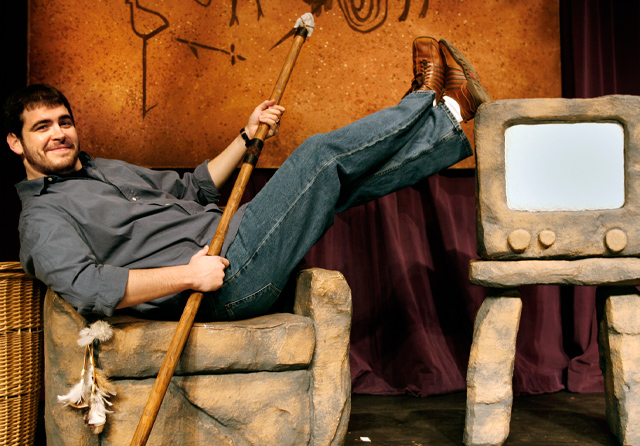 Caveman Show Las Vegas : Defending the caveman show preview review exploring